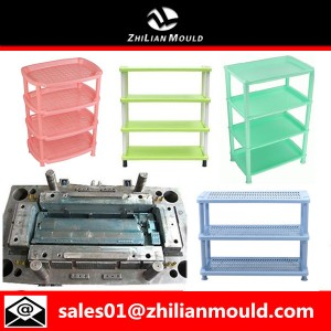 plastic shoes rack mould