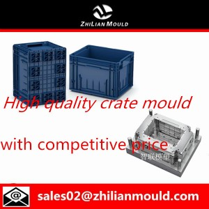 Plastic crate mould by Zhilian