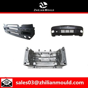 Automotive bumper mold