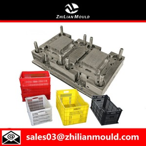 Plastic vegetable basket mould with high precision