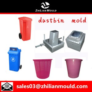 Industrial dustbin mould