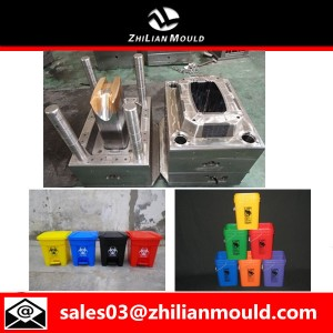 Plastic Dustbin Mould Making