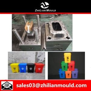 Plastic Dustbin Mould Making