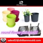 round flower pot mould