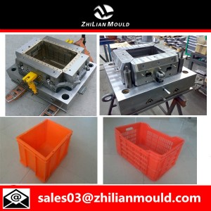 Zhilian single cavity crate mould