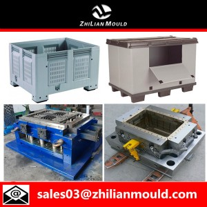 Folding crate mould maker