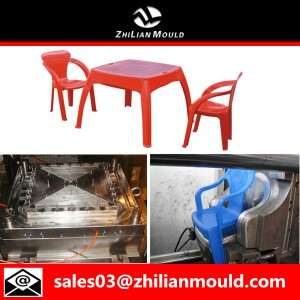 Zhilian plastic table and chair mould