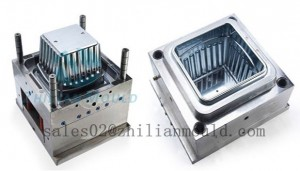 plastic flower pot mould supplier