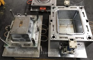 China plastic laundry basket mould maker