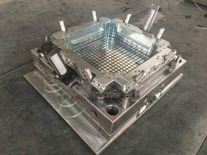China plastic storage crate mould supplier