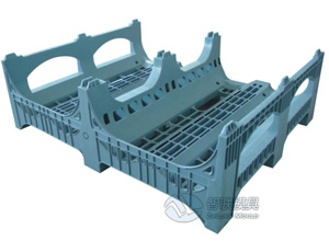 single deck pallet mould